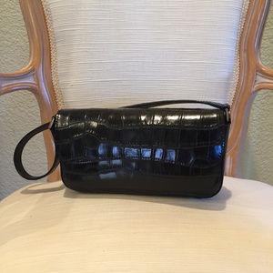 Handbags - Cute Leather Faux Alligator Handbag